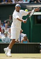 30-6-06,England, London, Wimbledon, third round match,  James Blake