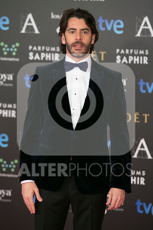 Eduardo Noriega attend the 2015 Goya Awards at Auditorium Hotel, Madrid,  Spain. February 07, 2015.(ALTERPHOTOS/)Carlos Dafonte)