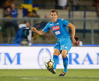 Vlad Chireches  during the  italian serie A soccer match,between Hellas Verona and SSC Napoli  at  the Bentegodi    stadium in Verona  Italy , August 19, 2017