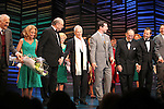 "Dick Latessa, Kristin Chenoweth, Neil Simon, Sean Hayes, Hal David, Rob Ashford.taking a bow on the  Opening Night Broadway performance Curtain Call for ""PROMISES, PROMISES"" at the Broadway Theatre, New York City..April 25, 2010."