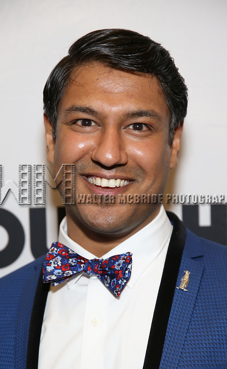 Vishal Vaidya attends the Broadway Opening Night After Party for 'Groundhog Day' at Gotham Hall on April 17, 2017 in New York City.