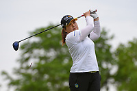 Inbee Park (KOR) watches her tee shot on 3 during the round 2 of the KPMG Women's PGA Championship, Hazeltine National, Chaska, Minnesota, USA. 6/21/2019.<br /> Picture: Golffile | Ken Murray<br /> <br /> <br /> All photo usage must carry mandatory copyright credit (© Golffile | Ken Murray)