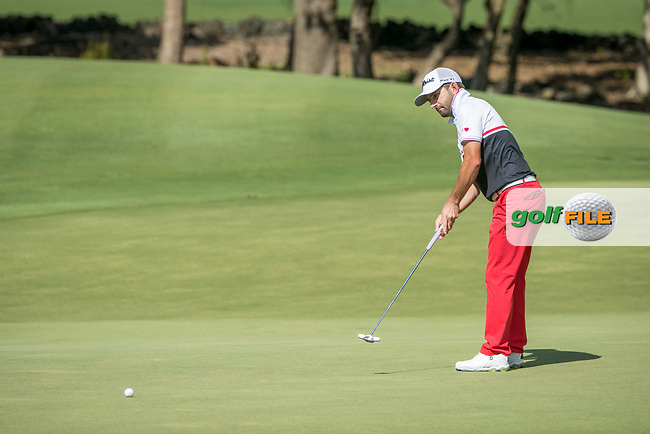 Jbe Kruger (RSA) during the 2nd round of the AfrAsia Bank Mauritius Open, Four Seasons Golf Club Mauritius at Anahita, Beau Champ, Mauritius. 30/11/2018<br /> Picture: Golffile | Mark Sampson<br /> <br /> <br /> All photo usage must carry mandatory copyright credit (© Golffile | Mark Sampson)