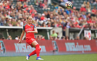 Portland, OR - Saturday April 29, 2017: Celeste Boureille during a regular season National Women's Soccer League (NWSL) match between the Portland Thorns FC and the Chicago Red Stars at Providence Park.