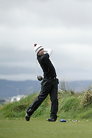 Garreth Bohill (Co. Louth) during round 1 of The West of Ireland Amateur Open in Co. Sligo Golf Club on Friday 18th April 2014.<br /> Picture:  Thos Caffrey / www.golffile.ie