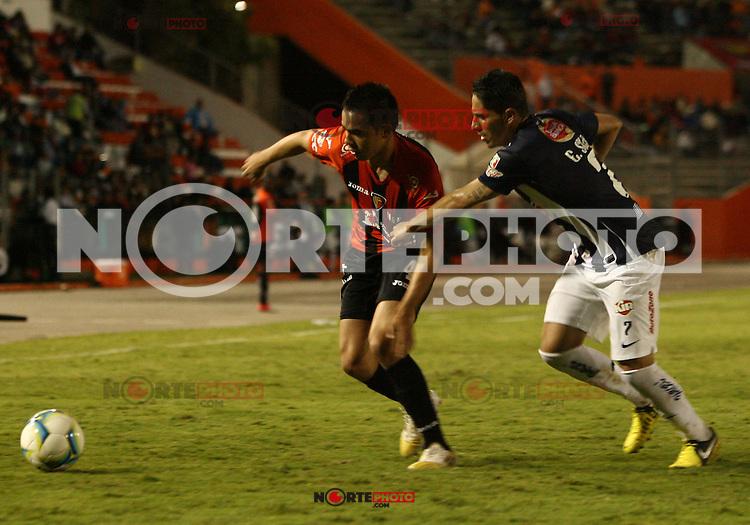 Monterrey vs Jaguares en la jornada 3 del Torneo Clausura 2013 de la Liga MX  el 18 de enero del 2012 en Tuxtla Gutierrez<br /> (GuillemoRamos/NortePhoto)