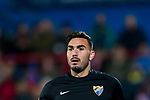 Goalkeeper Roberto Jimenez Gago of Malaga CF looks on during the La Liga 2017-18 match between Getafe CF and Malaga CF at Coliseum Alfonso Perez on 12 January 2018 in Getafe, Spain. Photo by Diego Gonzalez / Power Sport Images