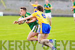 Kerry's Jack Savage in action at Austin Stack park, Tralee on Saturday.