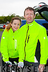 Tom and Louise McCarthy Castleisland who competed in the 3 Climbs cycle in Killarney on Sunday