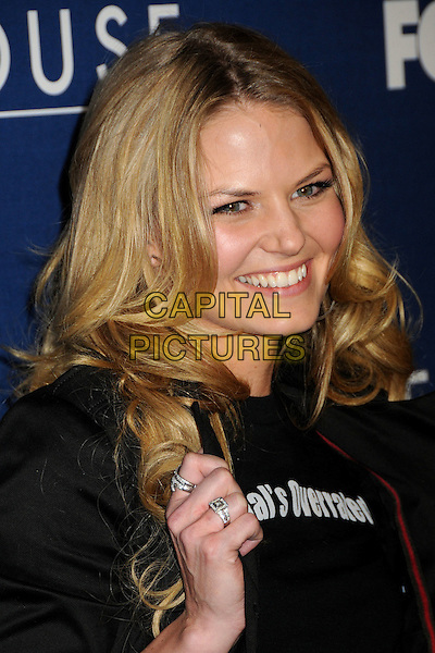 "JENNIFER MORRISON .""House"" 100th Episode Party at STK, Los Angeles, California, USA..January 21st, 2009.headshot portrait hand diamond rings normal's overrated.CAP/ADM/BP.©Byron Purvis/AdMedia/Capital Pictures."