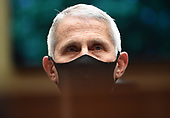 Director of the National Institute for Allergy and Infectious Diseases Dr. Anthony Fauci wears a face mask while he waits to testify before the House Committee on Energy and Commerce on the Trump Administration's Response to the COVID-19 Pandemic, on Capitol Hill in Washington, DC on Tuesday, June 23, 2020.   <br /> Credit: Kevin Dietsch / Pool via CNP