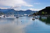 Waikawa Bay, Picton, Marlborough Sounds, Marlborough region, South Island, New Zealand.