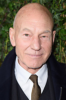 Sir Patrick Stewart arriving for the 2018 Charles Finch &amp; CHANEL Pre-Bafta party, Mark's Club Mayfair, London, UK. <br /> 17 February  2018<br /> Picture: Steve Vas/Featureflash/SilverHub 0208 004 5359 sales@silverhubmedia.com