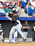 2 March 2011: Florida Marlins infielder Donnie Murphy in action during a Spring Training game against the Washington Nationals at Space Coast Stadium in Viera, Florida. The Nationals defeated the Marlins 8-4 in Grapefruit League action. Mandatory Credit: Ed Wolfstein Photo
