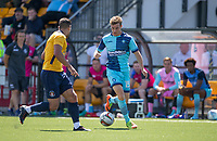 Dayle Southwell of Wycombe Wanderers in action during the pre season friendly match between Slough Town and Wycombe Wanderers at Arbour Park Stadium, Slough, England on 8 July 2017. Photo by Andy Rowland.