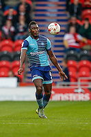 Aaron Pierre of Wycombe Wanderers during the Sky Bet League 2 match between Doncaster Rovers and Wycombe Wanderers at the Keepmoat Stadium, Doncaster, England on 29 October 2016. Photo by David Horn.