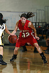 Palos Verdes, CA January 19, 2010 - Victoria Yutronich (32) in action during the Palos Verdes vs Peninsula Panthers basketball game at Peninsula High School.
