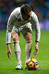 Real Madrid's midfielder Toni Kroos during the match of La Liga between Real Madrid and   Real Sociedad at Santiago Bernabeu Stadium in Madrid, Spain. January 29th 2017. (ALTERPHOTOS/Rodrigo Jimenez)