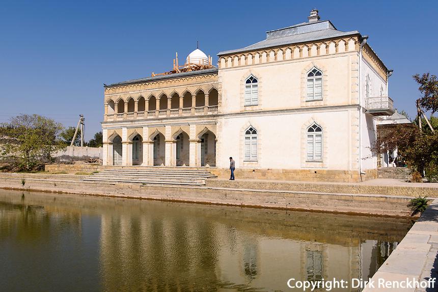 Harem im Sommerpalast des Emirs, Buchara, Usbekistan, Asien<br /> harem in the summerpalace of the emir, Bukhara, Uzbekistan, Asia