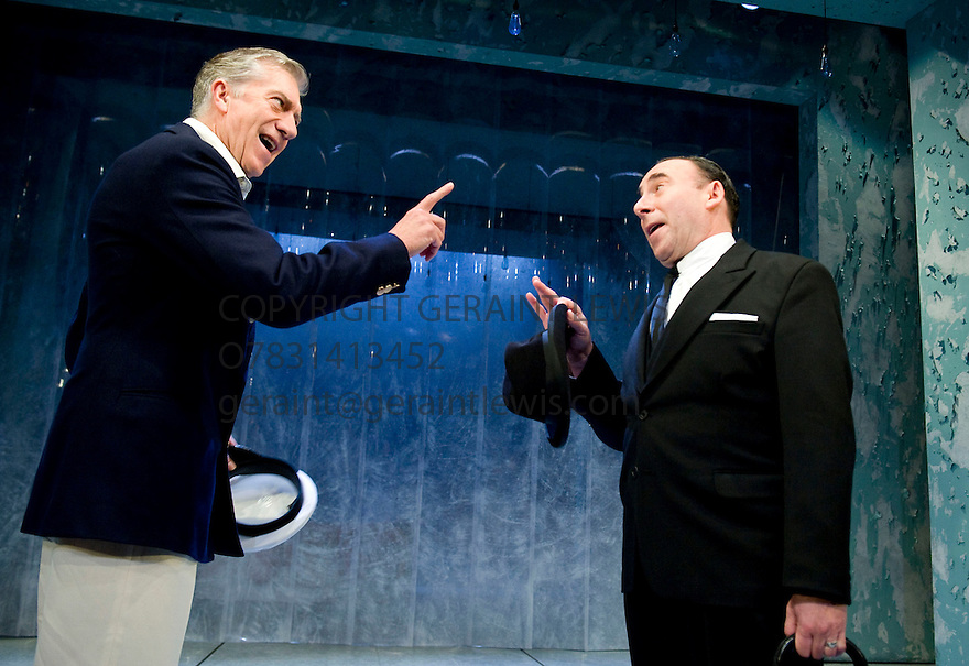 Broken Glass by Arthur Miller,directed by Iqbal Khan .With Brian Protheroe as Stanton Case, Antony Sher as Philip Gellburg. Opens at The  Tricycle Theatre  on 6/10/10 Credit Geraint Lewis