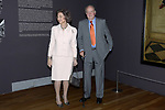 King Juan Carlos and Queen Sofia open the exhibition 'Visiones Del Mundo Hispanico. Tesoros de la Hispanic Society Museum & Library'. April 3 ,2017. (ALTERPHOTOS/Pool)