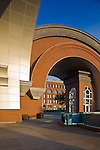 Tacoma, WA<br /> Arched brick entry and plaza of the Washington State History Museum