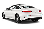 Car pictures of rear three quarter view of 2017 Mercedes Benz E Class AMG Line 2 Door Coupe angular rear