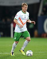 FUSSBALL   1. BUNDESLIGA  SAISON 2011/2012   10. Spieltag FC Augsburg - SV Werder Bremen           21.10.2011 Andreas Wolf (SV Werder Bremen)
