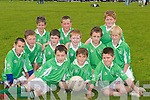 BLITZ: Na Gael.GAA Club sent.12 of their Under.-11s to play in.the Football Blitz.at John Mitchels.GAA Pitch,.Tralee, on Saturday..Team:.Andrew Barry,.Murrough Connolly,.Paul.Nolan, Luke.O'Connor, Liam.Cahill, Darren.Burns, Fionan.O ' C a r r o l l ,.Timmy Culloty,.Cian Quirke,.James McCrohan,.Alan Murphy.and Jack.Carmody.