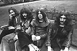 Black Sabbath 1970  Bill Ward, Tony Iommi, Ozzy Osbourne, Geezer Butler