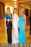 Pictured at Kerry Fashion Weekend awards held in the Carlton hotel, Tralee on Saturday evening, were l-r: Clodagh Irwin Owens, Killorglin, Emir O'Shea, Killorglin  and Mary Stapleton, Tralee
