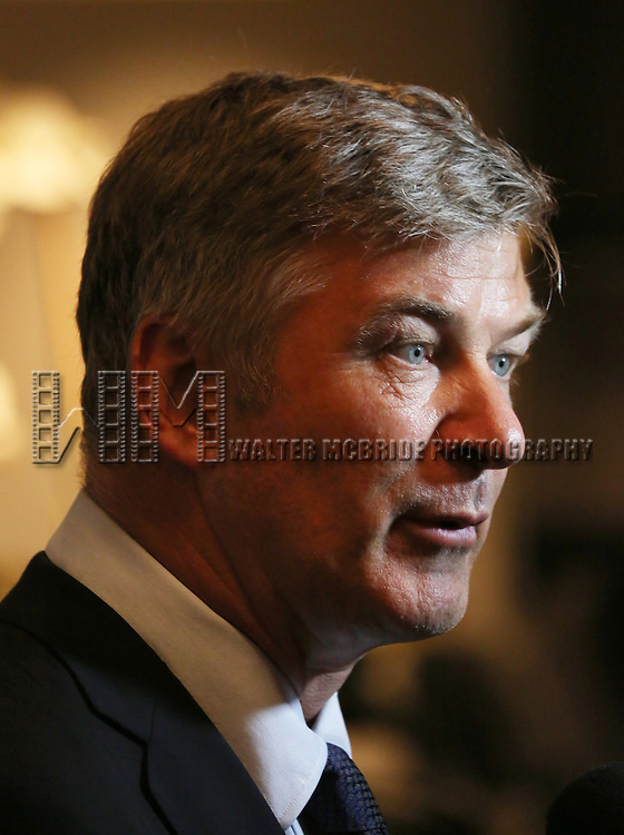 Alec Baldwin attend 'The Unavoidable Disappearance Of Tom Durnin' Opening Night After Party at Laura Pels Theatre on June 27, 2013 in New York City.
