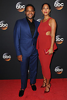 www.acepixs.com<br /> May 16, 2017  New York City<br /> <br /> Anthony Anderson and Tracee Ellis Ross  attending arrivals for the ABC Upfront Event 2017 at Lincoln Center David Geffen Hall on May 16, 2017 in New York City.<br /> <br /> Credit: Kristin Callahan/ACE Pictures<br /> <br /> <br /> Tel: 646 769 0430<br /> Email: info@acepixs.com