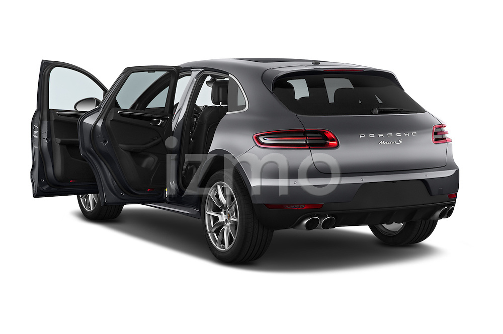 Car images of a 2015 Porsche Macan S 5 Door SUV Doors