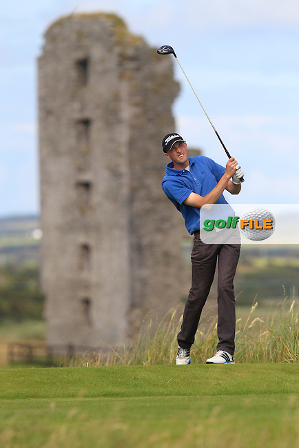 Ian Spillane (Mallow) on the 13th tee during Round 2 of the South of Ireland Amateur Open Championship at LaHinch Golf Club on Thursday 23rd July 2015.<br /> Picture:  Golffile | Thos Caffrey
