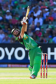 10th February 2019, Melbourne Cricket Ground, Melbourne, Australia; Australian Big Bash Cricket, Melbourne Stars versus Sydney Sixers;  Glenn Maxwell of the Melbourne Stars drives the ball down the ground