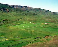 Breiðabólstaður séð til norðvesturs, Húnaþing vestra áður Þverárhreppur / Breidabolstadur viewing northwest, Hunathing vestra former Thverarhreppur.