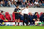 Nederland, Amsterdam, 15 september  2012.Seizoen 2012/2013.Eredivisie.Ajax-RKC 2-0.Rodney Sneijder in overleg met Erwin Koeman van RKC