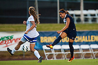 Sky Blue FC midfielder Nayeli Rangel (7). Sky Blue FC defeated the Boston Breakers 5-1 during a National Women's Soccer League (NWSL) match at Yurcak Field in Piscataway, NJ, on June 1, 2013.