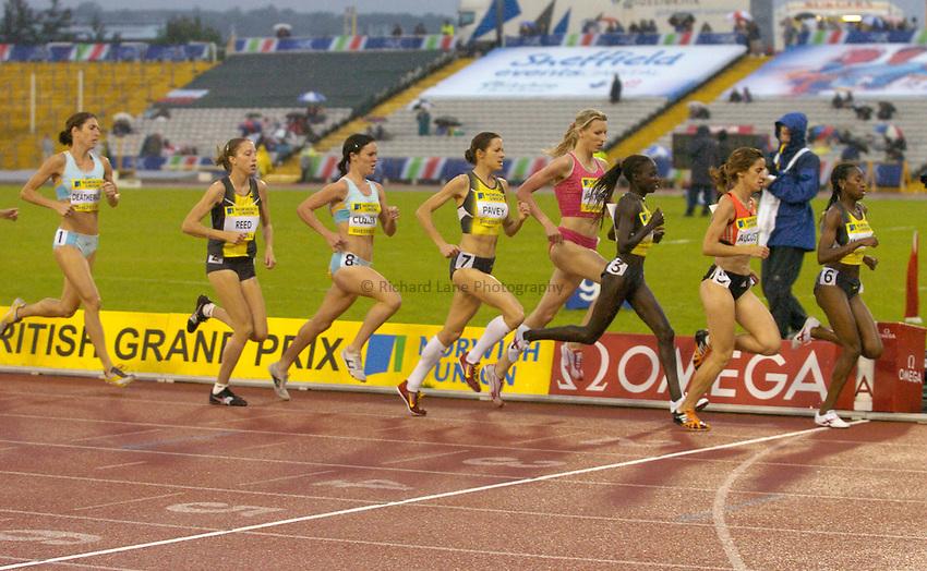 Photo: Richard Lane/Sportsbeat Images..Norwich Union British Grand Prix, Sheffield. 15/07/2007. .Women's 3000m.