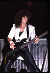 Eddie Jackson of Queensryche 1986