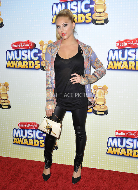 WWW.ACEPIXS.COM....April 27 2013, LA....Cassie Scerbo arriving at the 2013 Radio Disney Music Awards at the Nokia Theatre L.A. Live on April 27, 2013 in Los Angeles, California...........By Line: Peter West/ACE Pictures......ACE Pictures, Inc...tel: 646 769 0430..Email: info@acepixs.com..www.acepixs.com