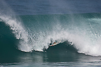 ARITZ ARANBURU (EUK)  surfing at Backdoor, North Shore of Oahu, Hawaii. Photo: joliphotos.com