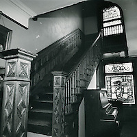 1972 July 01..Conservation.Ghent (R-43)....Interior of Ghent House.Ghent Conservation Project..Millard Arnold.NEG#.NRHA#..