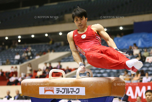 Naoya Tsukahara, MAY 9, 2014 - Artistic Gymnastics : The 68th All Japan Gymnastics Championship Men's Individual All-Around preliminary at 1st Yoyogi Gymnasium, Tokyo, Japan. (Photo by Yohei Osada/AFLO SPORT) [1156]