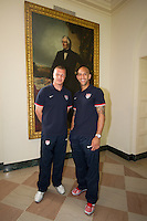Washington DC - Tuesday , May 29, 2012: White House tour with the USA Men's National Team.