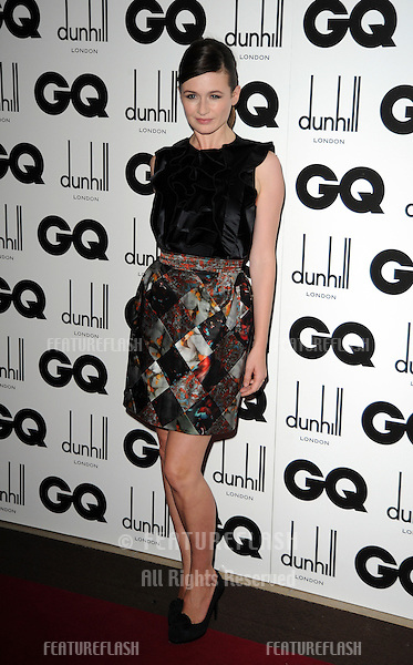 Emily Mortimer at the GQ Men of the Year Awards at the Royal Opera House, London..September  08, 2010 London, United Kingdom.Picture: Gerry Copper / Featureflash..