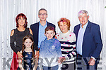 Kevin Lynch who was honoured  at the Kerry Council awards in the Gleneagle Hotel on Friday night with his family Pauline,  Caoimhe, Kevin, Adam, Jean and Paudie Lynch