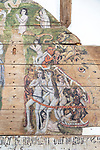 Wenhaston Doom painting from 1490, Suffolk, England, UK