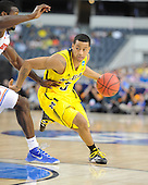 The University of Michigan men's basketball team beat Florida, 79-59, to advance to the NCAA Final Four at Cowboys Stadium in Arlington, Texas, on March 31, 2013.